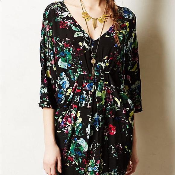 7b99331ad51ce Anthropologie Dresses & Skirts - Anthropologie Maeve Petal Palette Tunic  Dress Med
